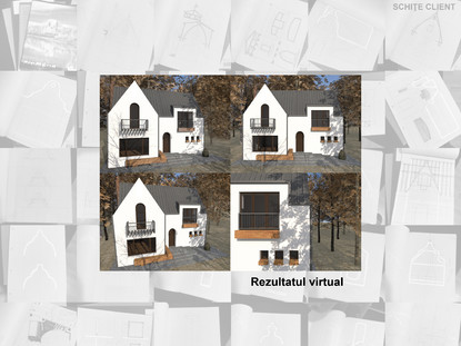 Casa de vacanta P+M - Nistoresti - Breaza - In executie 0  Breaza AsiCarhitectura