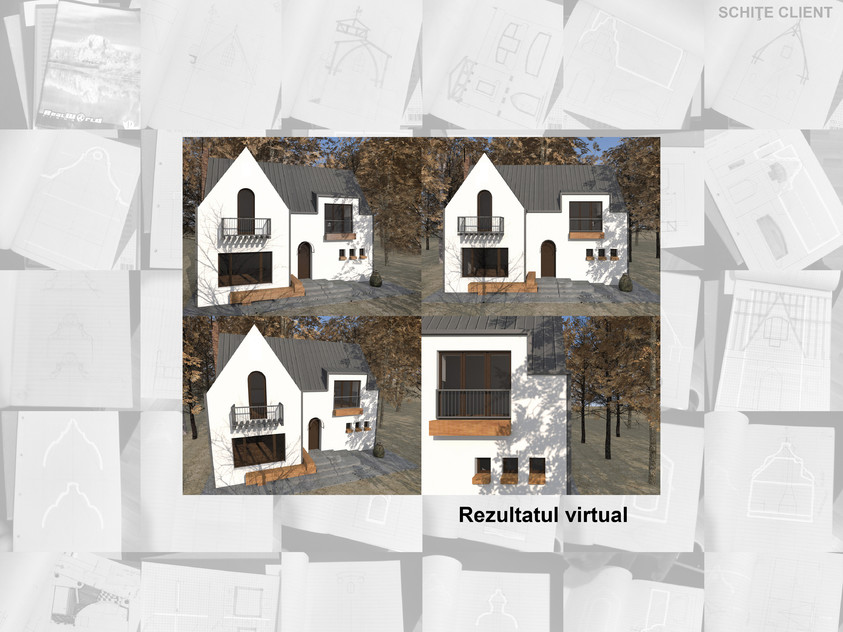 Casa de vacanta P+M - Nistoresti - Breaza - In executie 0