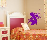 Sticker decorativ - Fairies - Beestick