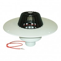 Receptor pentru acoperis cu guler din PVC si incalzire (10 - 30 W 230 V) -
