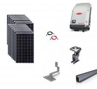 Sistem fotovoltaic on-grid Fronius 4kwp prindere tigla