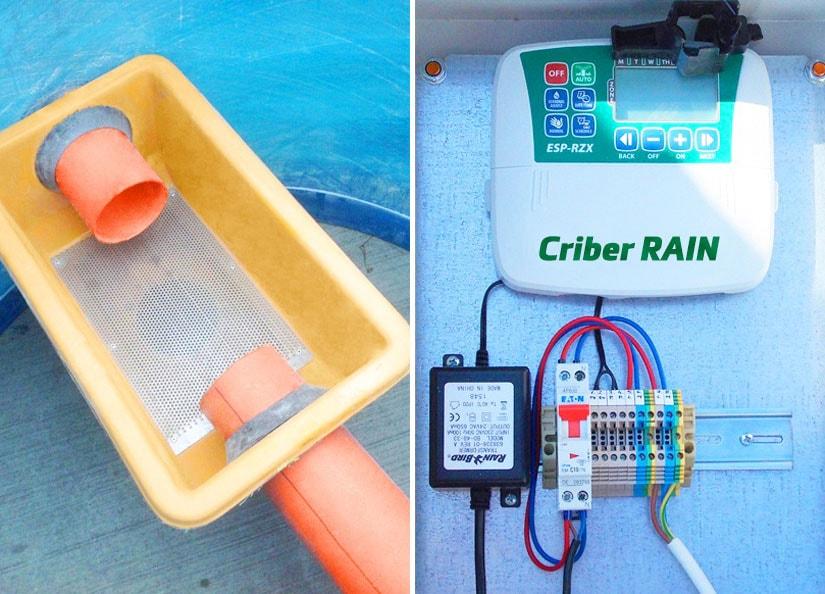 Rezervoarele Criber RAIN - soluția 1st Criber pentru perioadele de secetă