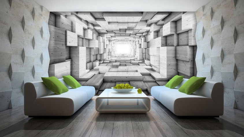 Fototapetul 3D - o metodă ultramodernă de decorare