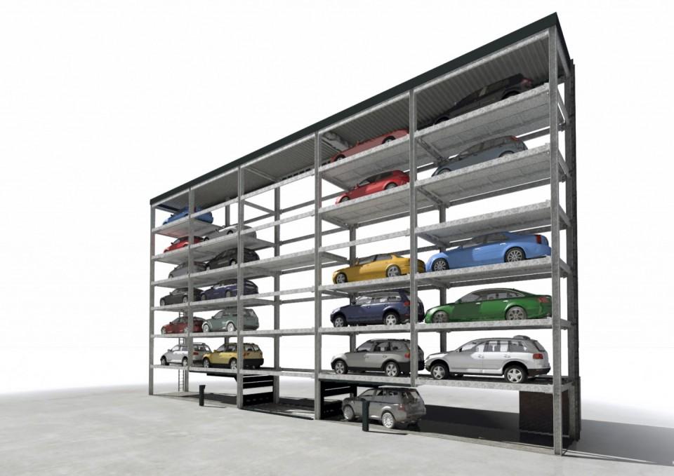Sistem de parcare Slimparker 557