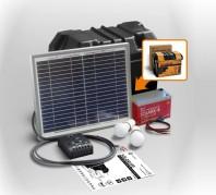Kit solar Xunzel Off-Grid complet pentru iluminat SOLARLIFE10ii