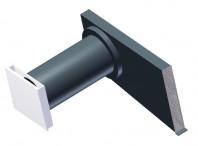 Unitate  de ventilatie cu recuperare de caldura integrata in fatada - SEVI 160U