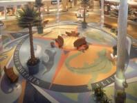 Medalion pentru pardoseala - Mall dinosaur SIDORA