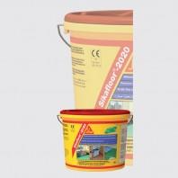 Sikafloor®- 2020 - Acoperire din acril colorat, uni-componenta, cu dispersie in apa