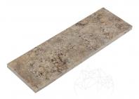 Plinta Travertin Silver Periat 10 x 30 x 1.2 cm - PSP-7570