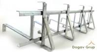 Parazăpadă grilaj zincat 3m - învelitori ceramice / beton