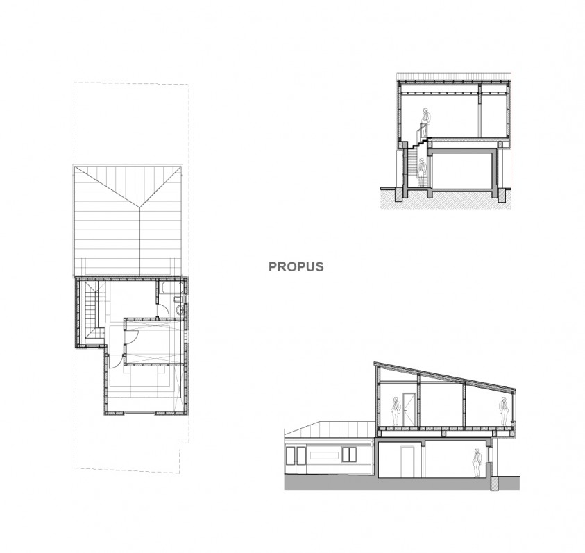 Locuinta unifamiliara - P+E Bucuresti - str. Banu Nicolae 04.7  AsiCarhitectura