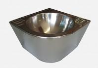 Lavoar de colt din otel inox - SANELA SLUN 41M