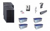 Sistem fotovoltaic off-grid Poweracu 3kwp prindere tabla