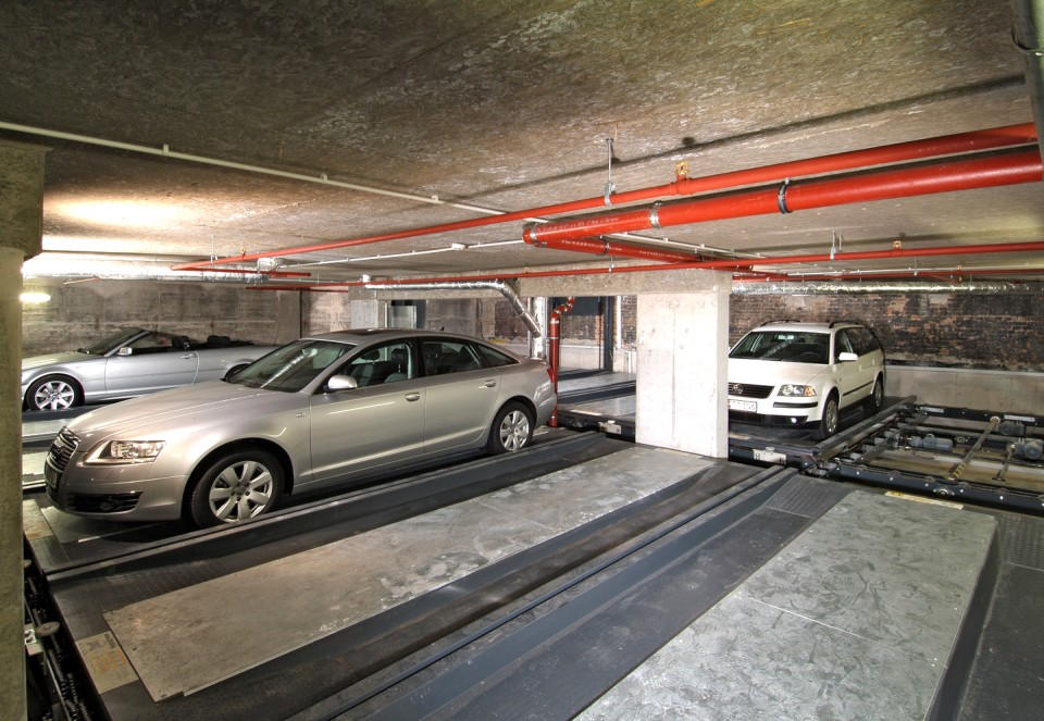 Sisteme automate de parcare Level Parker 570