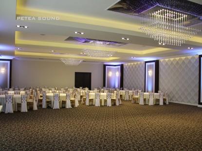 Detaliu amenajare salon evenimente  Galati PETEA Sound
