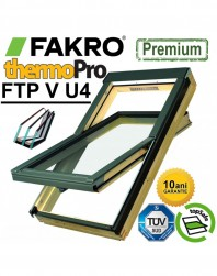 Fereastra cu 3 sticle Fakro FTP-V U4 Argon