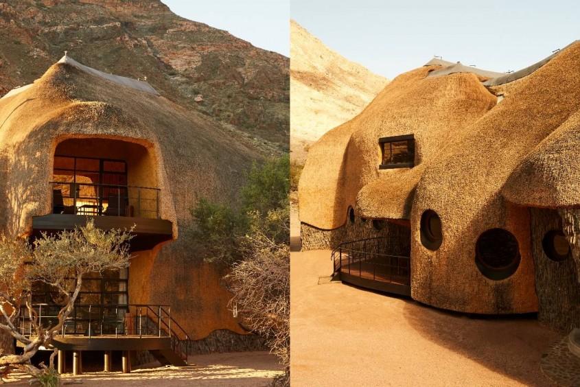 Cuibul, o locuință inspirată de o capodoperă arhitecturală din natură