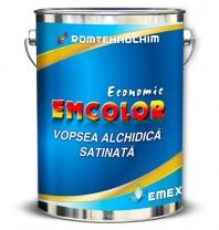 Vopsea Alchidica Satinata EMCOLOR - Bidon 5 Kg