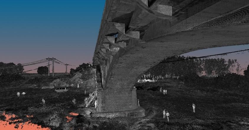 Scanare 3D - Pod Dolhasca - proiect realizat de GRAPHEIN  Dolhasca GRAPHEIN GRAPHEIN