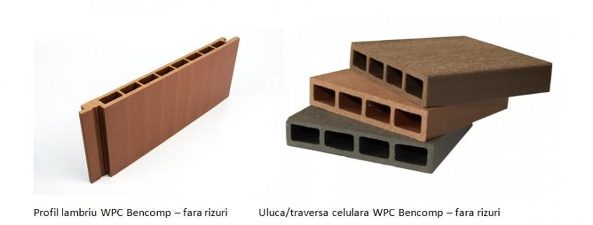 5 elemente prin care se diferenţiază profilele WPC