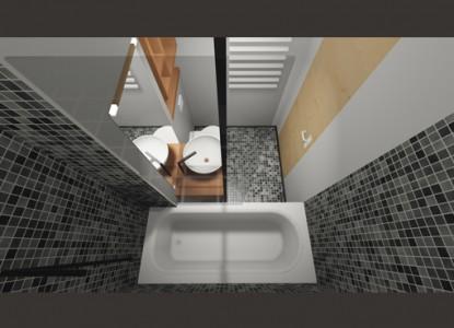 Modificari apartament 2 camere - str. Emil Racovita  Bucuresti AsiCarhitectura