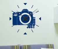 "Sticker tip ceas de perete ""Aparat Foto"""