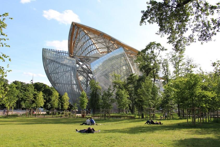 Fundatia Louis Vuitton de Frank Gehry (Paris, 2014)