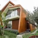 Panouri HPL pentru fațada ventilata a unui complex rezidențial sustenabil