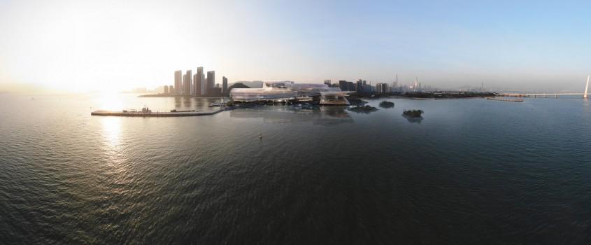Jean Nouvel a proiectat Casa Operei din Shenzhen ca o prelungire delicată a mării