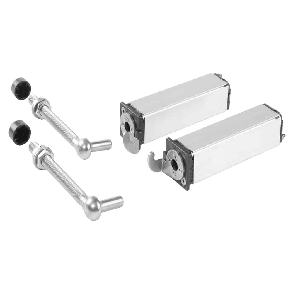 Set 2 balamale cu amortizor pentru porti de gradina -SWING40