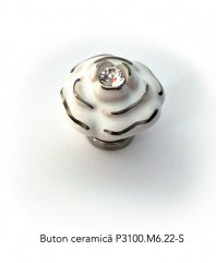 Buton ceramica P3100.M6.22.S