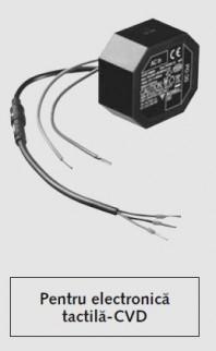 Unitate de retea SCHELL cu montare in perete - pentru electronica tactila - CVD