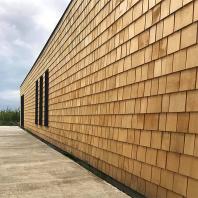 Șindrilă din lemn de cedru galben pentru fatade Alaska Yellow Cedar
