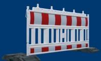 Bariere pvc/Garduri din plastic semnalizare lucrari