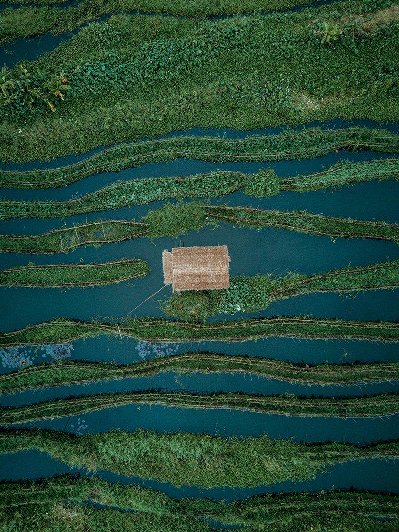 Lacul Inle, Myanmar Lacul Inle este faimos pentru satele si gradinile sale plutitoare.