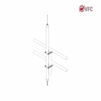 Captator VFC® din cupru 1/2 12.7mm diametru cu catarg izolat