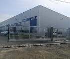 Instalare poarta culisanta industriala la Delta Engineering, Maramures