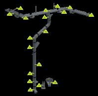 Sistem pluvial de jgheaburi si burlane pentru acoperis - METIGLA