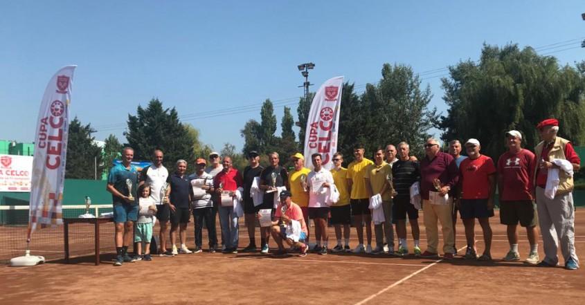 S-a încheiat a 12-a ediție a Cupei CELCO de tenis de câmp prima ediție înscrisă în
