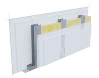 Perete D100, CW50-H@60, 2x2 Standard 12.5 + MW