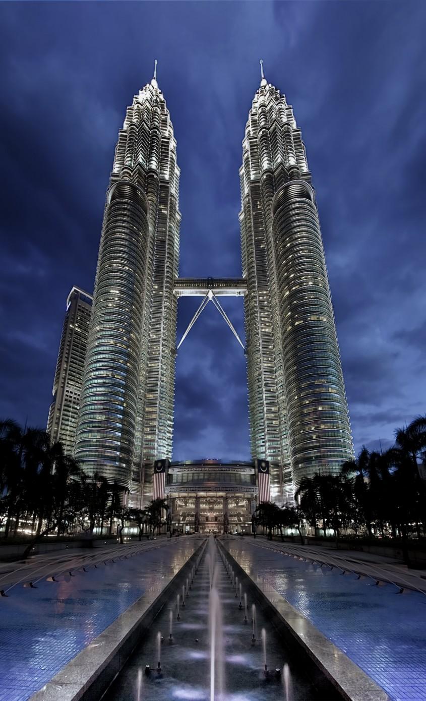 Petronas Towers, Kuala Lumpur, 1998