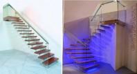 Scara din lemn dreapta sau balansata - INVENT Light