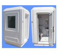 Cabina 1515 cu dus si toaleta individuala - New Design Composite