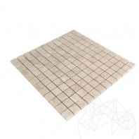 Mozaic Marmura Light Beige Polisata 2.3 x 2.3 cm MPN-2021