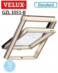 Fereastra de mansarda Velux GZL 1051 B Standard - maner jos