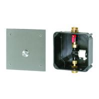 Unitate de spalare pisoare cu buton piezo si cutie de montaj - SANELA SLP 02PA