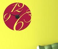 "Sticker tip ceas de perete ""Extravagant"""