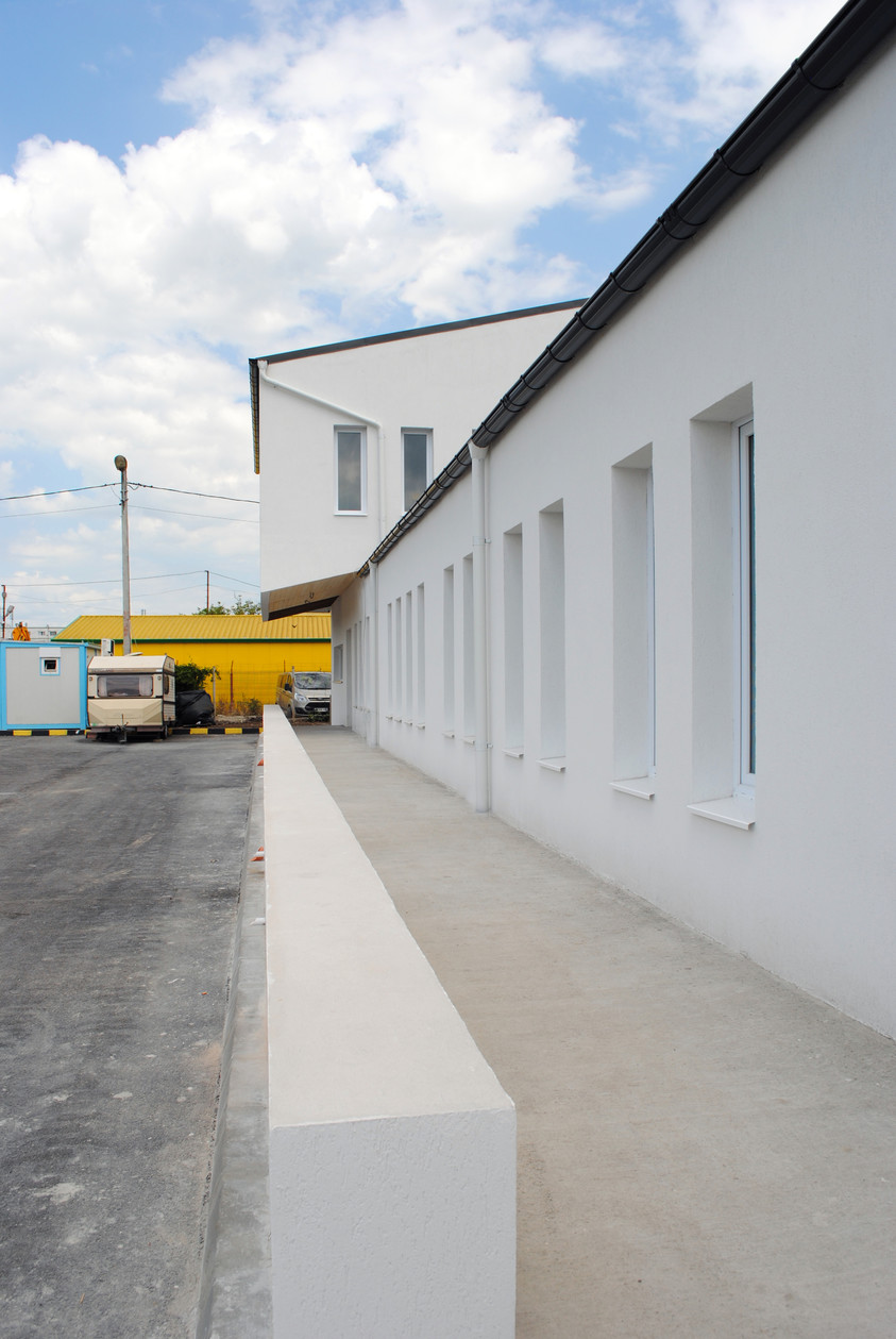 Vestiare pentru angajatii fabricii de pulberi metalice - Buzau 01.19  Buzau AsiCarhitectura