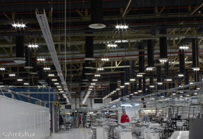 Iluminat industrial cu leduri pentru interior  Bors, Bihor ELECTRONIC INTERACTIV