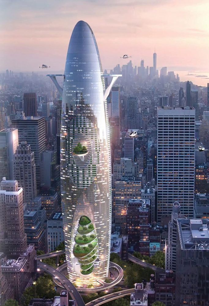 Vertical Sustainable City